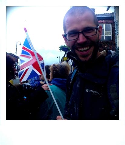 Aidan at the Ashton Olympic Torch Relay