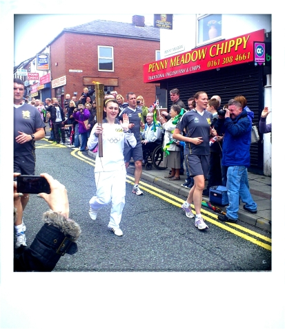Olympic Torch Ashton