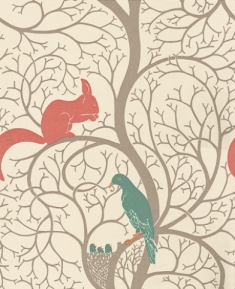 Squirrel and Dove by Sanderson