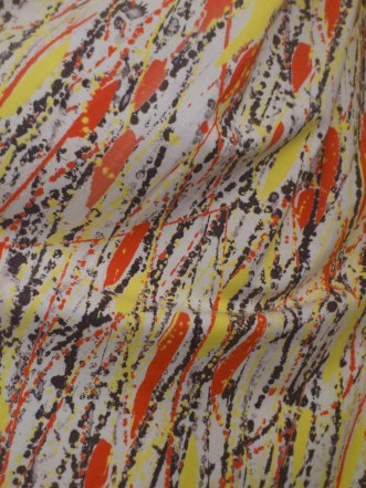 1950s French Fabric