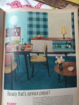 Colour ideas from retro advert