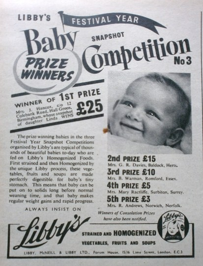 Libby's Baby Competition Winner