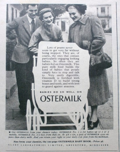1950s Ostermilk Advert 2