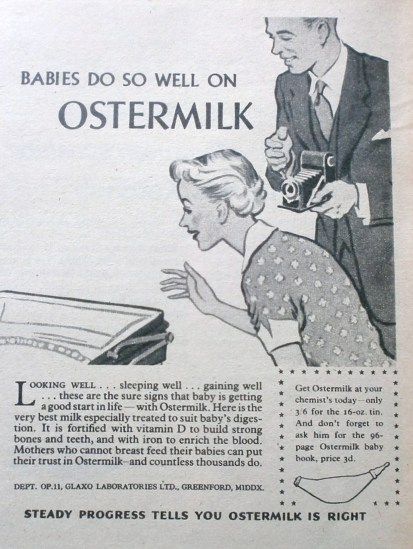 1950s Ostermilk Advert 1