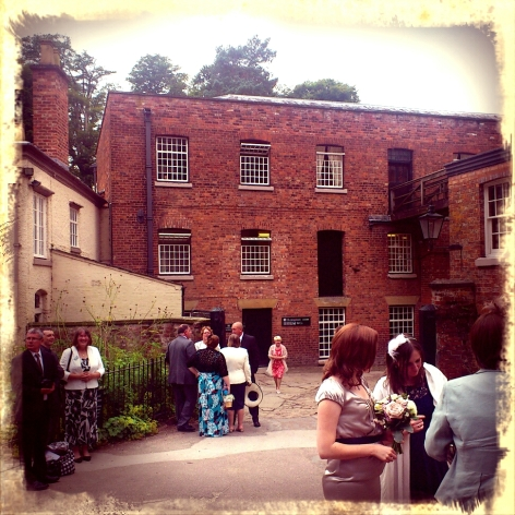 Styal Mill wedding