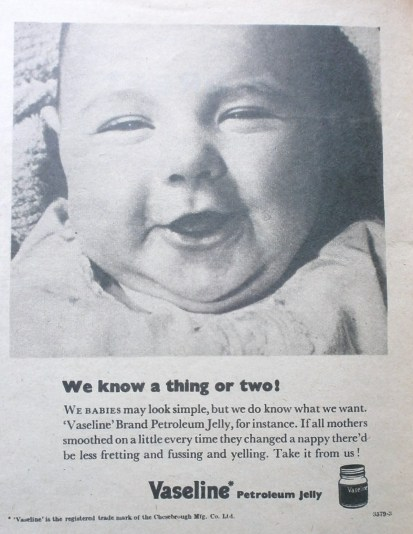 Vintage Vaseline Advert 4