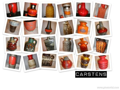 Carstens - Autumnal West German Pottery