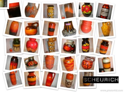 Scheurich Autumnal West German Pottery