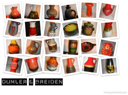 Dumler & Breiden Autumnal West German Pottery