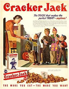 Cracker Jack Halloween advert