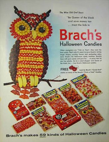Brach's Halloween Candies Advert