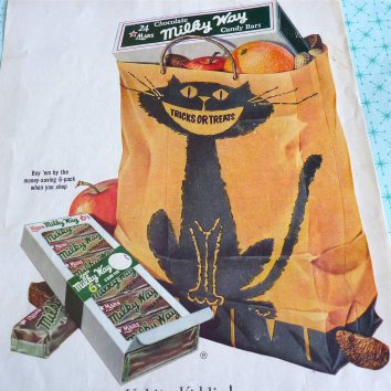 1950s Milky Way Bar Halloween Advert