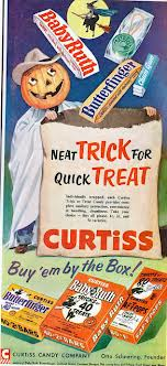 Vintage Curtiss Sweets Halloween Advert