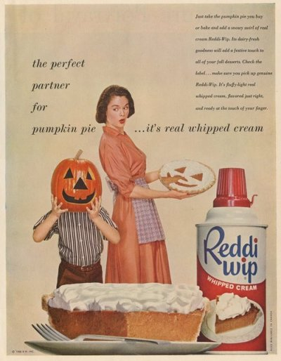 Reddiwip 1950s Halloween Advert
