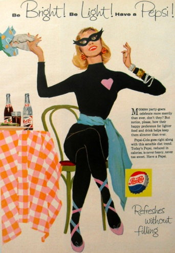 1950s Pepsi Halloween Advert