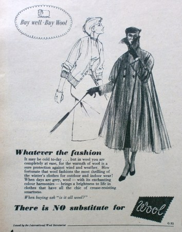 1950s Wool advert