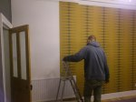 More wallpapering...