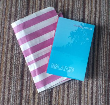 'Island' by Aldous Huxley - bought in the Red Balloon bookshop in Ludlow