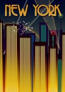 Steve Harvey New York Poster