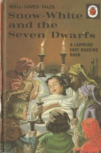 Snow White and the Seven Dwarfs vintage Ladybird book 1969