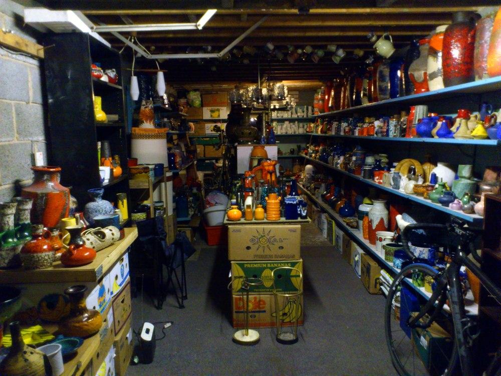 West German Pottery Sale. Hadfield, Derbyshire, 2013