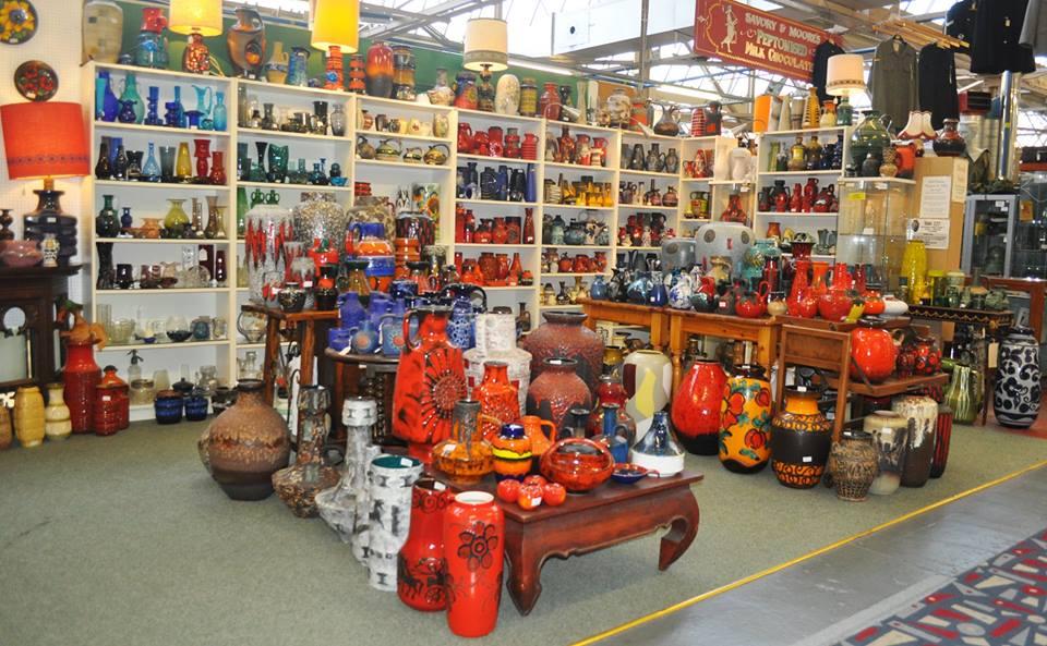 Stuart's stall at Bygone Times