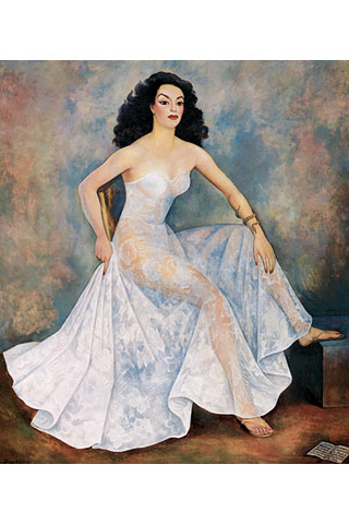 Maria Felix painted by Diego Rivera