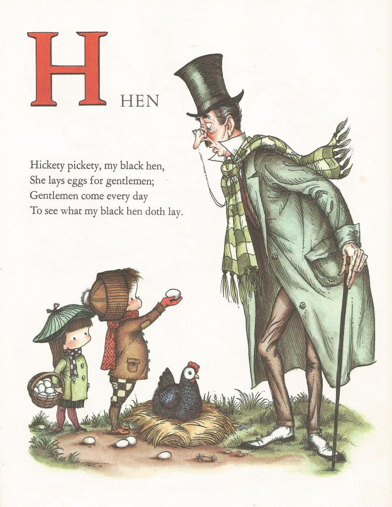 H is for Hen - Joan Walsh Anglund