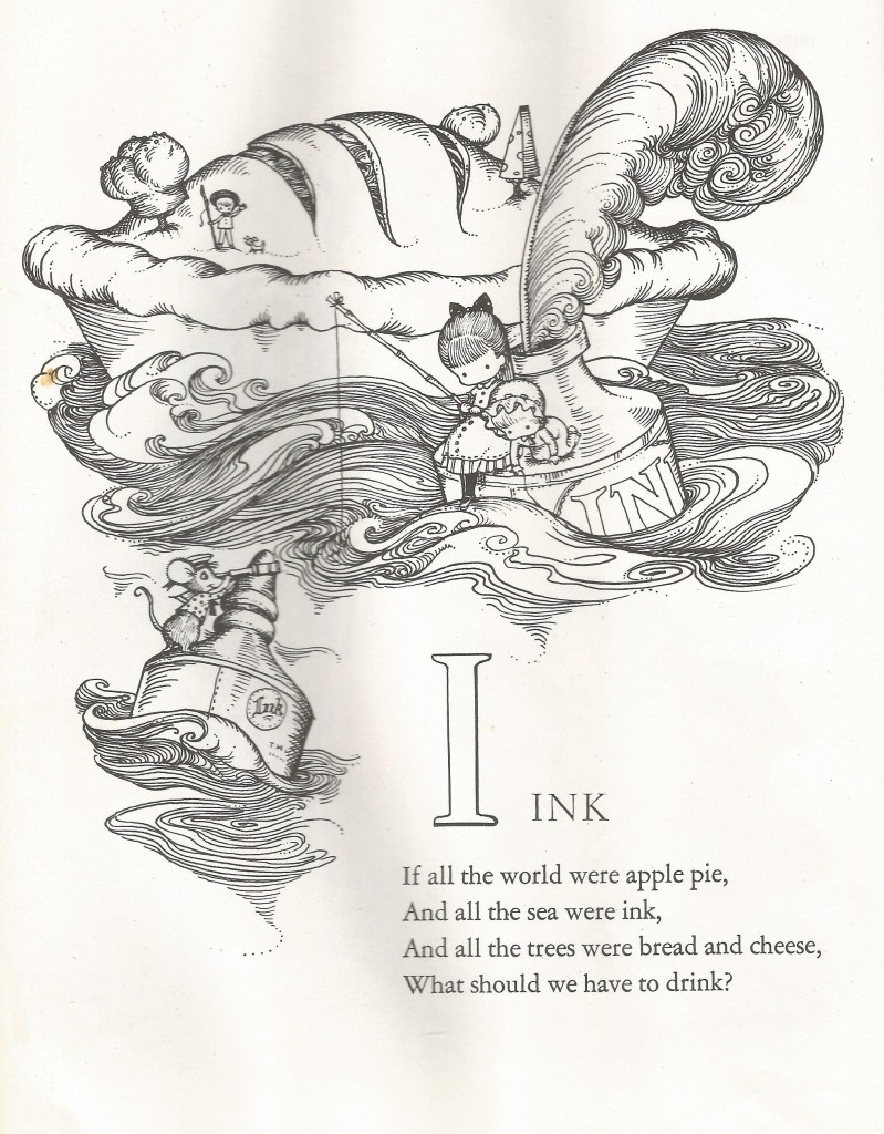 I is for Ink - Joan Walsh Anglund