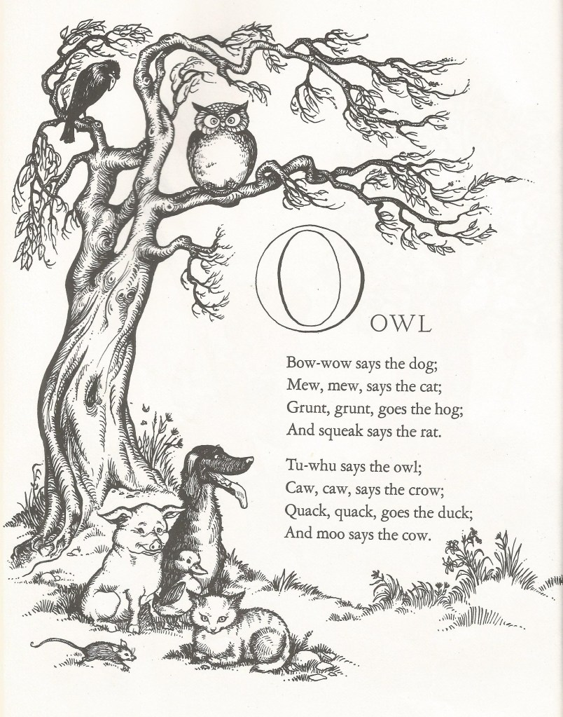 O is for Owl - Joan Walsh Anglund
