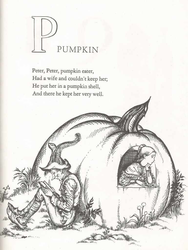 P is for Pumpkin - Joan Walsh Anglund