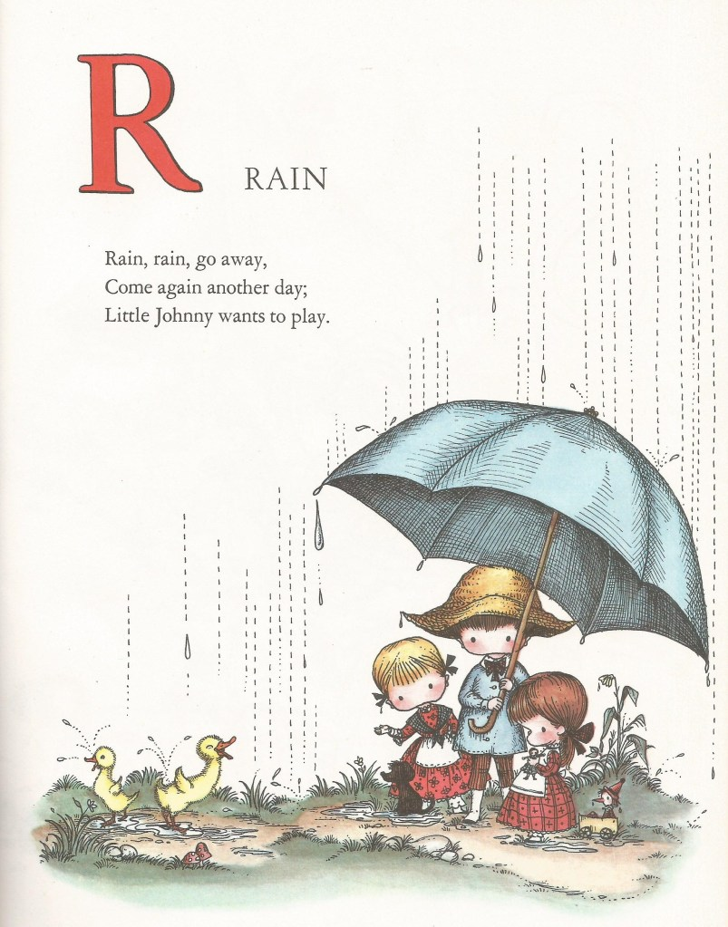 R is for Rain - Joan Walsh Anglund
