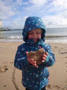 Dexter at Llandudno Beach