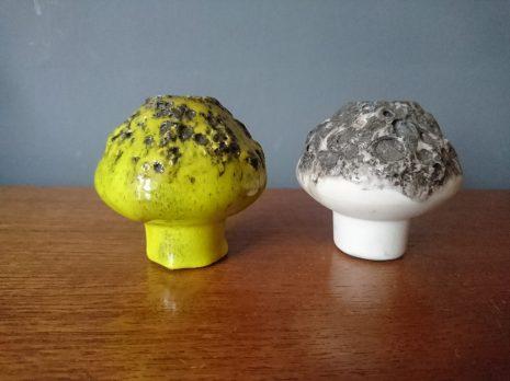 West German Pottery - Ruscha mushrooms