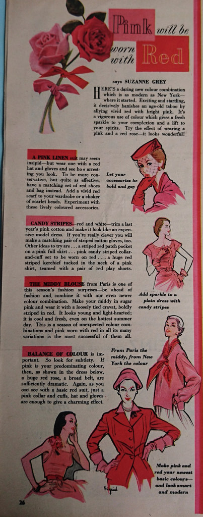 Woman's Own article 1952