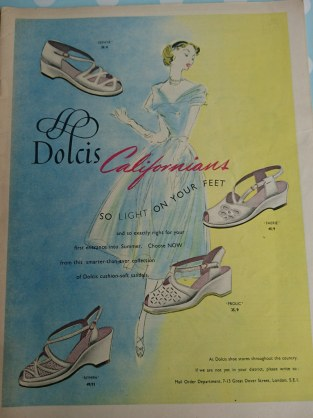 Dolcis Vintage Advert 1952