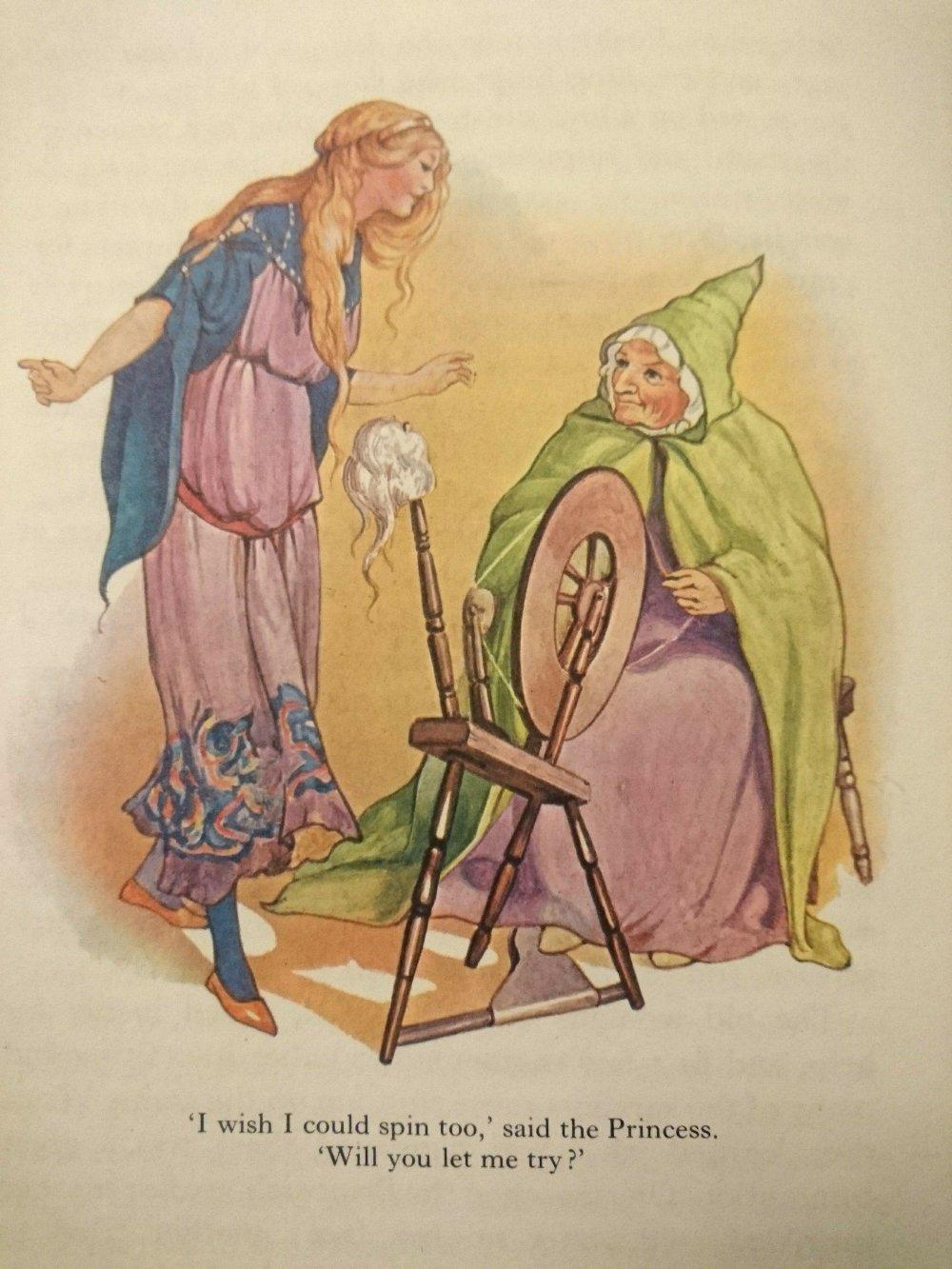 Margaret Tarrant Sleeping Beauty