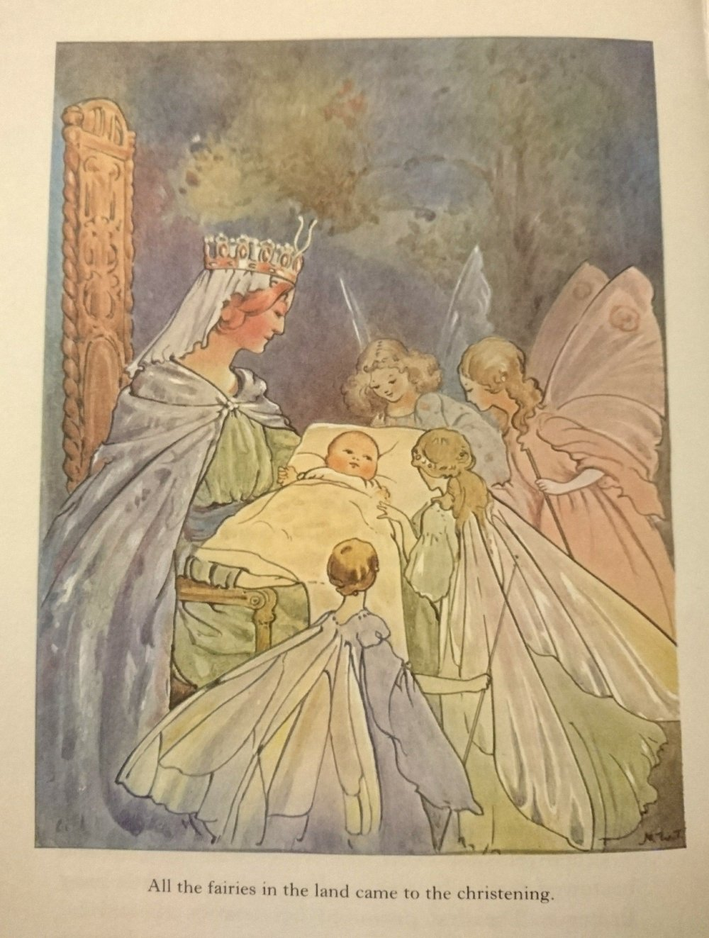 Margaret Tarrant Sleeping Beauty